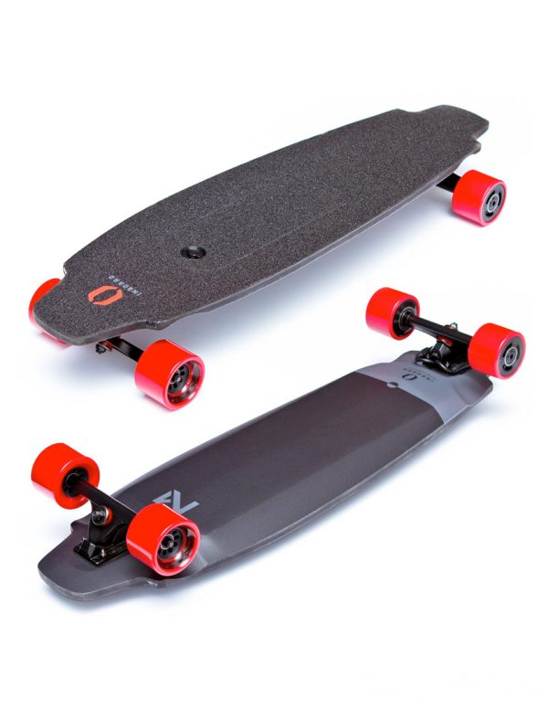 Inboard M1 Get on the road with this M1 electric skateboard. It's ready to ride and includes an incredibly compact motor built into the board so that you hardly know it's there, yet it's good for up to 10 miles. A pocket-sized remote ensure this M1 electric skateboard is easy to control as you speed about town. Range: 11KM Top Speed: 35KM/U Highlights: Integrated LED Lights, Splash Resistance, Dual In-Wheel Motor.