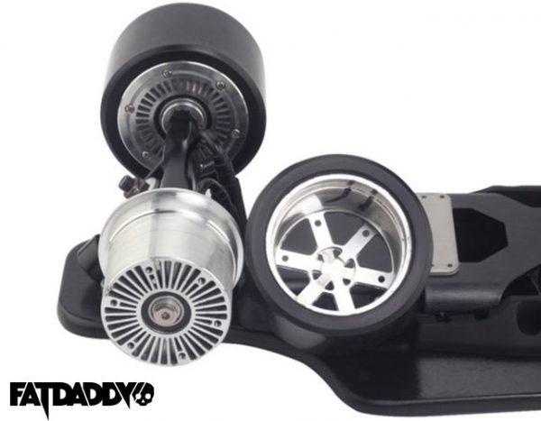 Koowheel Kooboard Replaceable Wheel Koowheel Electric Skateboard Replaceable PU Wheels, 97mm 85A for the Koowheel Kooboard.  (SET OF 2)
