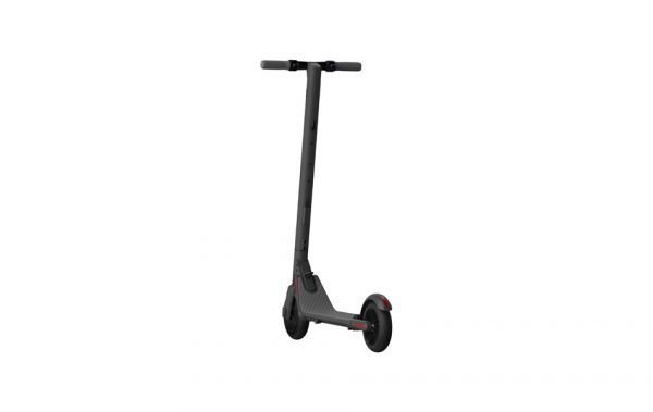 Segway Ninebot KickScooter ES2 A lightweight easy-storage scooter with a one-push folding system for covering short distances.  Speed up to 25 km/h  Range up to 25 km/h  Highlights: Water resistent,Shock Absorber, Customizable Atmosphere Light