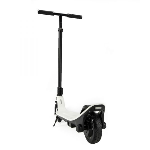 """Mini Electric Scooter The Mini is the smallest electric scooter available. Easy & fun to ride.  Speed: 16km/h Range: 20km Features: 6"""" wheels, small size,"""