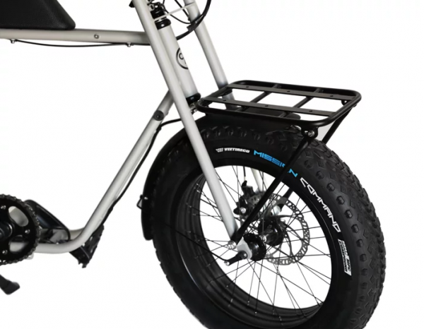 Buzzraw Front Rack This is a pre-order  Shaped like a seat and constructed from lightweight yet tough aluminium alloy, it's able to accommodate items all shapes and sizes. All you need is a bungee cord, or two, and voila, you can ride anywhere with your precious cargo securely and safely stowed.