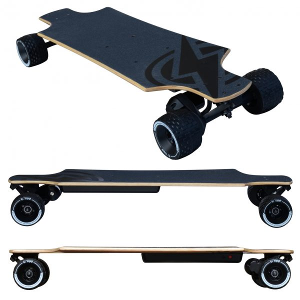 Atom Electric B10X All-Terrain Longboard Skateboard With Atom Electric's B10X your off-road adventure awaits.