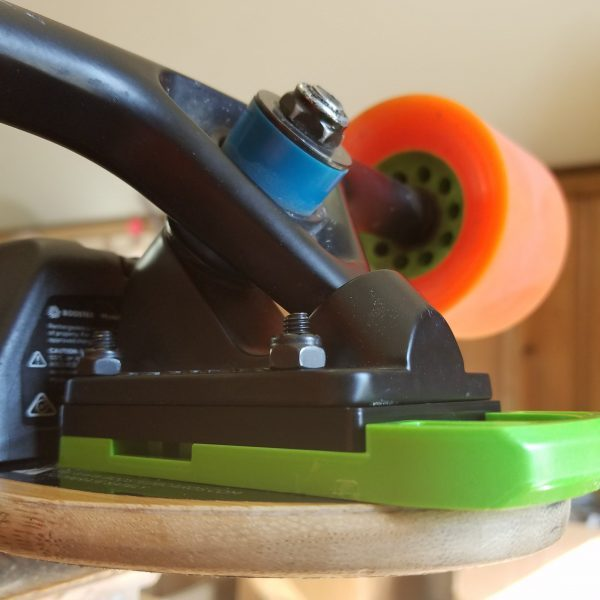Extended Riser for Boosted Boards If you need a taller ride height and want to use Bash Guards, the Extended Riser is for you.