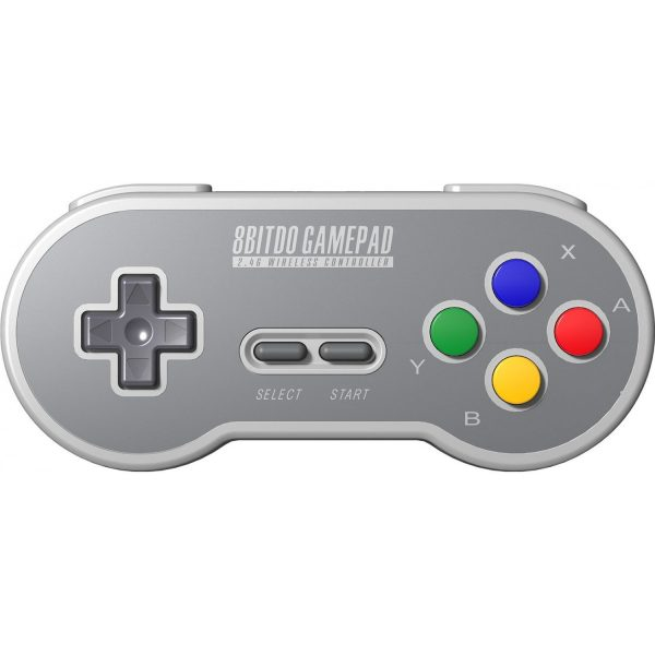 8Bitdo SF30 for SNES Classic Mini Do you own a NES Mini or a SNES Mini? Revive it with a wireless controller! The receiver is included and goes into the controller port of the console. If you play wired, it also works with your PC for the ultimate retro experience with emulators!