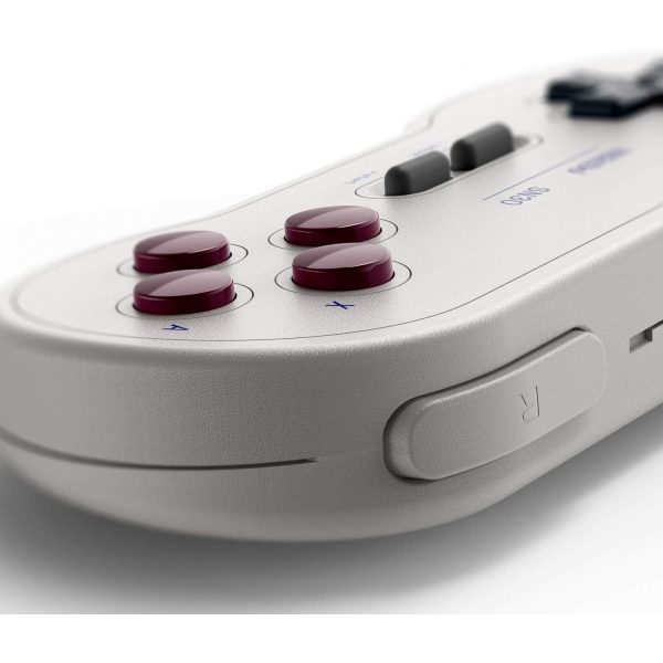 8Bitdo SN30 GP Retro Wireless Bluetooth gamepad  Designed with the utmost attention to detail- just like the classics  Built in rechargeable battery  Designed after the original game boy pocket colors (G Classic Edition)