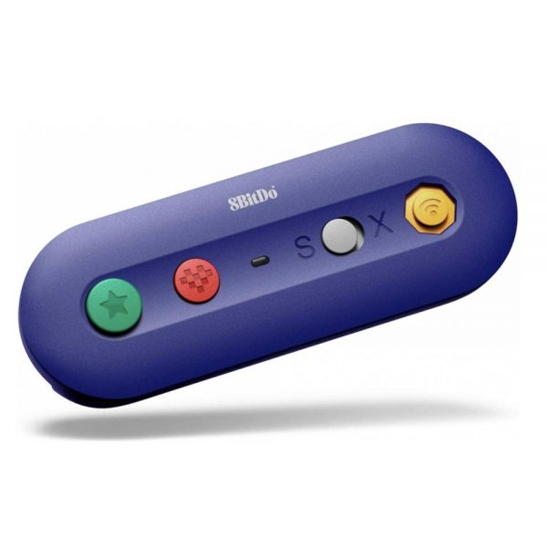 8BitDo GBros GameCube Adapter for Switch and PC Play on the Nintendo Switch or Windows with original controllers from GameCube, (S) NES Classic Mini and Wii Classic, among others.  Features of the 8BitDo® GBros. Wireless Adapter: - Switch Home and screenshot buttons present on the adapter - The adapter has one controller port - Two AA batteries required (not included) - With this adapter it is possible to use Retro-Bit® controllers on the Nintendo Switch
