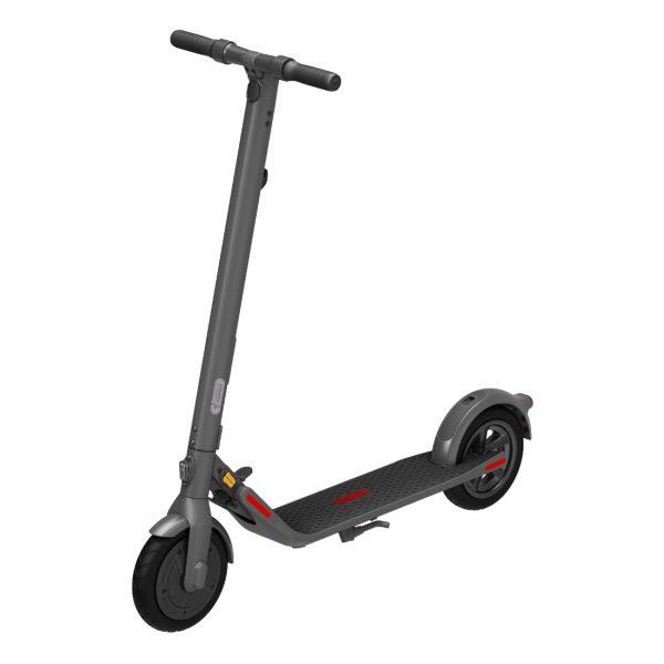Segway Ninebot E22E Dürfen wir vorstellen: Der Segway Ninebot E22E, die nächste Generation von elektrischen Scootern von Segway, gemacht für den europäischen Markt.  Mit Brandneuen Features wie den komfortablen (und stichfesten) Dual Density Reifen, zwei unabhängigen Bremsen für mehr Sicherheit sowie Front- und Heckbremslichter zur besseren Sichtbarkeit.  Handfreies, schnelles und kompaktes Zusammenklappen  Bis zu 20 km/h und eine Reichweite von 22 km. Drei verschiedene Fahrmodi.
